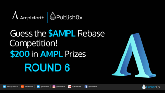 Can You Guess #AMPL Rebase? Win from $200 in $AMPL Rewards Pool - Round 6!
