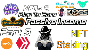 Play to earn games / NFTs passive income part 3 staking + Renting  & NFT airdrop