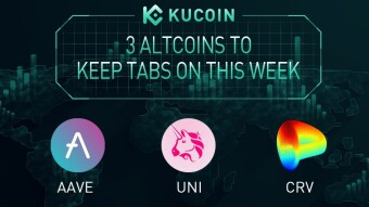 3 Altcoins To Keep Tabs On - AAVE, UNI, CRV | KuCoin Weekly Review Issue #6
