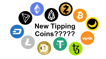 What the new Tipping Coins for Publish0x should be!