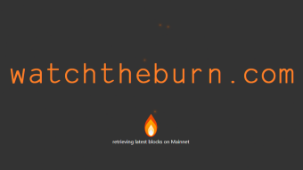 watchtheburn.com - EIP-1559 real time visualization
