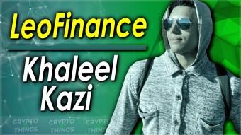 Earn More On Hive Using LeoFinance   With Khaleel Kazi