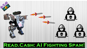 Read.Cash: Using AI to fight Spam!