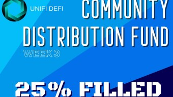 Unifi DeFi Update: Week 3 of CDF, Over 25% Full!