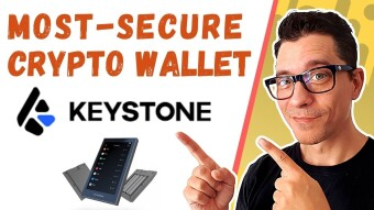 The Most Secure Crypto Wallet - Keystone Hardware Wallet Review