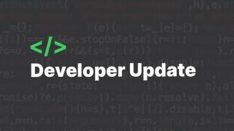 Developer Update – September 15th
