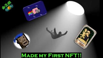 My NFT Journey: Part #2- Made My First NFT!!