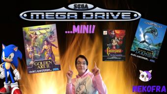 Sega mega drive mini!