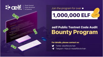 Code Audit Bounty Program for aelf Public Testnet is Open with a Prize Pool of one Million ELF!