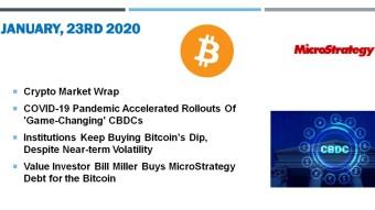 🗞 Daily Crypto News, January, 23rd💰