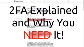 2FA Explained and Why You NEED It!