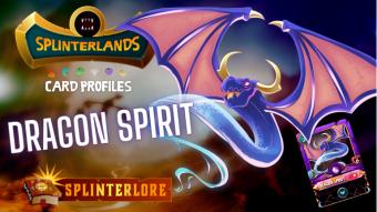 Splinterlands Epic Card Profile - Dragon Spirit