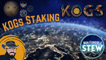 KOGs Staking Announced - Passive Income Potential