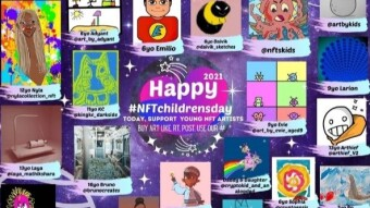 Next BIG NFT Take over: Children's digital art