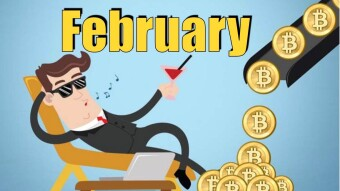 My Crypto Earnings (February)