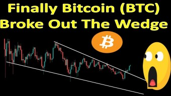 Finally Bitcoin (BTC) Broke Out The Wedge
