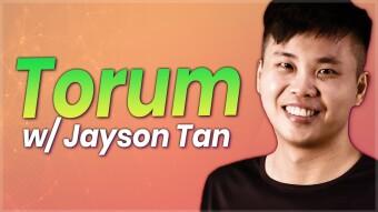 Crypto-Monetized Social Media - Jayson Tan From Torum