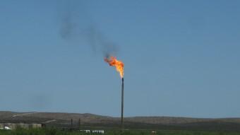 Burning Gas for Bitcoin Mining