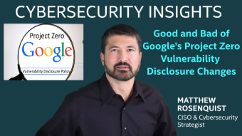 Good and Bad of Google's Project Zero Vulnerability Disclosure Changes