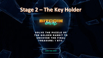 The Hunt for the Golden Rabbit and 1 BTC Reward: Stage 2