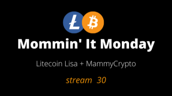 Mommin' It Monday - Stream 30 - Crypto News Jan 18th, 2021