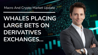 Whales Are Placing Serious Bets On Derivatives Exchanges… - Daily Macro And Crypto Update