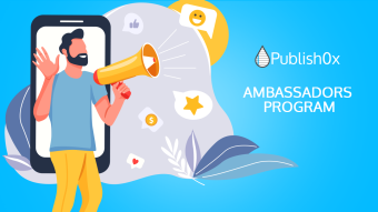 January Publish0x Ambassadors Leaderboards Contest Completed: $160 in AMPL Rewarded!