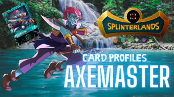 Splinterlands Epic Card Profile - Axemaster