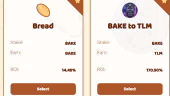 Using xDITTO and $BAKE at Bakery Swap - Is the bread still fresh?