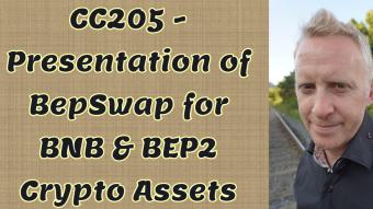 CC205 - Presentation of BepSwap for BNB & BEP2 Crypto Assets