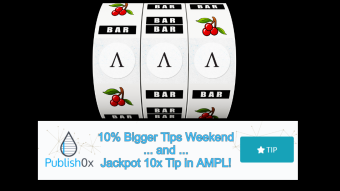 #LuckyTipWeekend: 10% Bigger Tips Weekend and a 1% Chance of a 10x Tip in $AMPL!