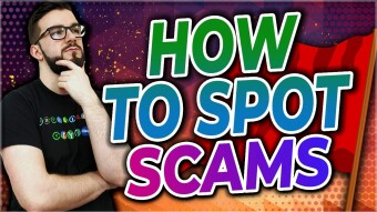 Spotting Scams - Notice The Red Flags