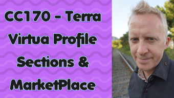 CC170 - Terra Virtua Profile Sections & MarketPlace