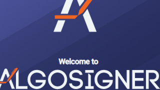 Continuing on Algorand developer tools/Community projects: ALGODESK - ALGOSIGNER