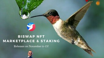Biswap launches NFT Marketplace including NFT Staking