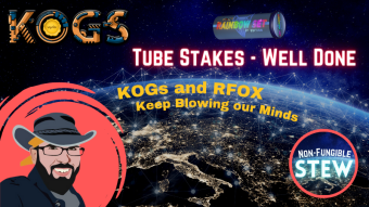 The Tube Stake Boogie - Staking KOGs for Massive RFOX Rewards
