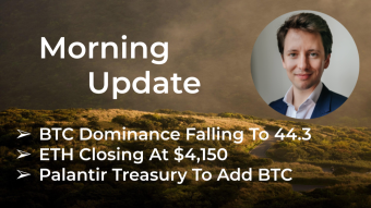 Morning‌‌ ‌‌Update—May 12th—Macro and Crypto Markets