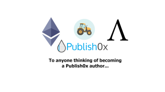 To anyone thinking of being a Publish0x author - this is for you!