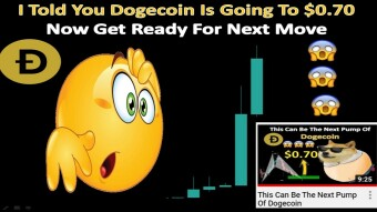 I Told You Dogecoin Is Going To $0.70 | Now Get Ready For Next Move