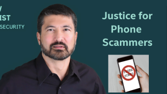 Some Justice for Phone Scammers