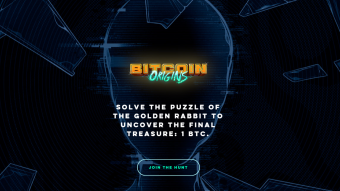 The Hunt for the Golden Rabbit and 1 BTC Reward: Stage 1