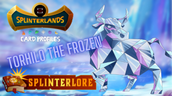 Splinterlands Epic Card Profile - Torhilo the Frozen