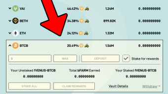 Farming $BTC & $ETH at Harvest Finance vis Binance Smart Chain [Beginner Friendly]