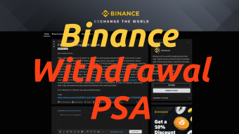 Binance Withdrawal PSA