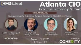 Speaking at the HMG Atlanta Virtual CIO Summit