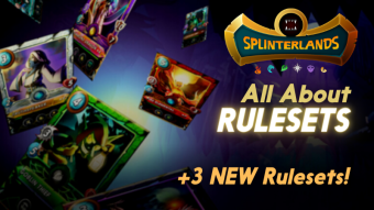 Three New Rulesets to Shake up Splinterlands!