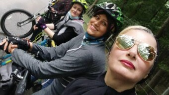 Girl Cyclists & The Story of A New Adventure in The Forests