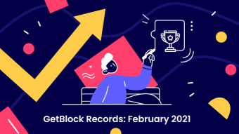 GetBlock Nodes Provider Shows Their Records For February '21