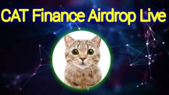 Cat Finance Airdrop Reward: 500 CAT (~$500)😍🤑