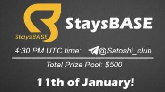 StaysBASE x SatoshiClub AMA from 11January